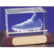 Optical Crystal 3D Laser Block - Football Boot