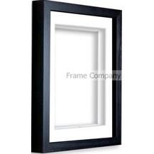 black -7x5-frame-with-white-mount