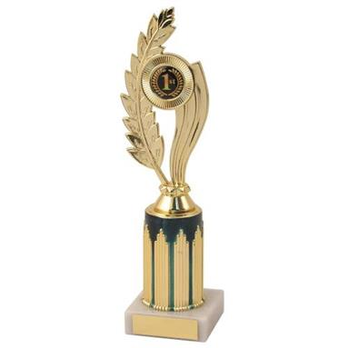 AT98D Gold Holder On Gold/Blue Riser Trophy 241mm
