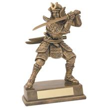 JR11-RF31 Bronze/Gold Resin Samurai Figure