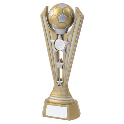 JR1-RF720PL Gold/Silver Resin Football 'Players Player'