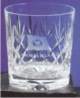 Sovereign Lead Crystal Panel Whiskey Glass