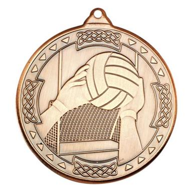 M85BZ Gaelic Football Celtic Medal