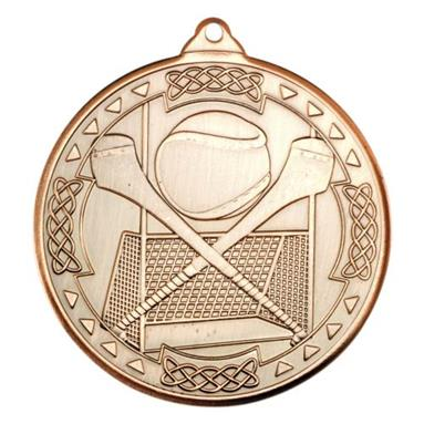 M86BZ Hurling Celtic Medal