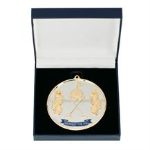 MB1781A Prestige Nearest the Golf Medal & Box 90mm