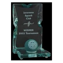 Copinsay Ball Trophy - Glass - Squash