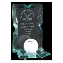 Copinsay Ball Trophy - Glass - Golf - A perfect Hole in One Award!