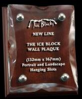 Ice Block Wall Plaque