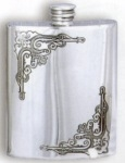 Antiquity Pewter Flask