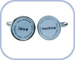 'Love/Machine' Cufflinks