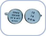 'They think it's all over/It is Now' Cufflinks