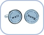 'Well/Hung' Cufflinks