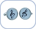 'Treble Clef' Cufflinks