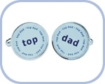 'Top/Dad' Cufflinks