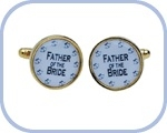'Father of the Bride' Cufflinks