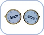 'Groom' Cufflinks