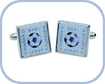 'Football 'Freekick-Goal-Penalty-Shoot' Cufflinks