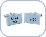'Over The/Hill' Cufflinks