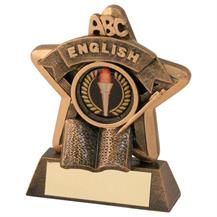 JR44-RF407 Bronze/Gold English Mini Star Trophy