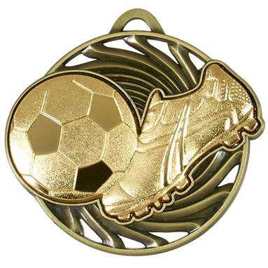 AM921G Vortex Football Medal (N)
