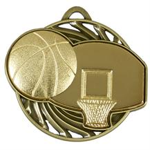 AM924G Vortex Basketball Medal (N)