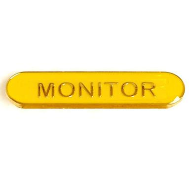 SB031Y BarBadge Monitor Yellow