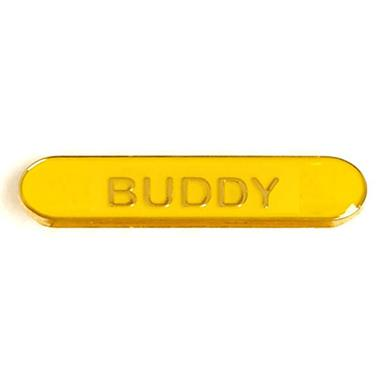 SB027Y BarBadge Buddy Yellow