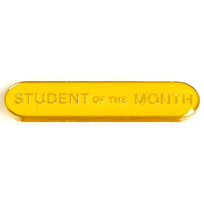 SB024Y BarBadge Student Of The Month