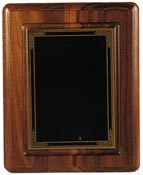 Amercian Walnut Hanging Plaque