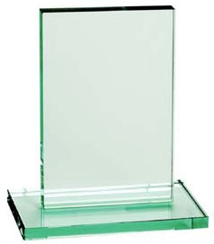 Rectangle Presentation Jade Crystal Award