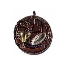 Antique Rugby Medal