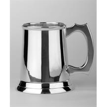 P271 Silver Plated Tankard