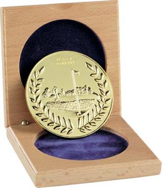 60mm Nearest the Pin Cased Medal