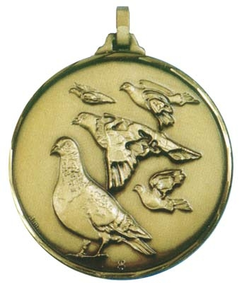 Faceted Pigeon Medal