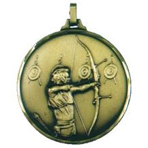 Faceted Archery Medal