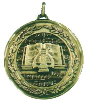 Faceted Music Medal