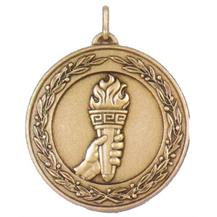 Laurel Series Economy  Medal - Torch