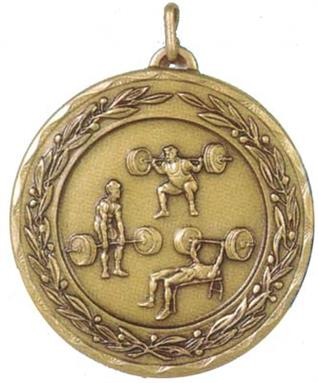 Laurel Series Economy  Medal - Weightlifting