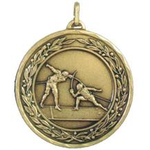 Laurel Series Economy  Medal - Fencing