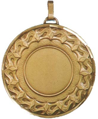 Multi Activity Faceted/Economy Medal - 50mm