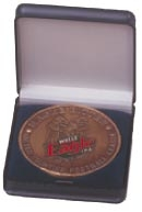Flip Top Plastic Medal Case