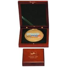 Luxury Wood Medal Box - Laser personalisation available
