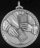 Poker Cards Medal