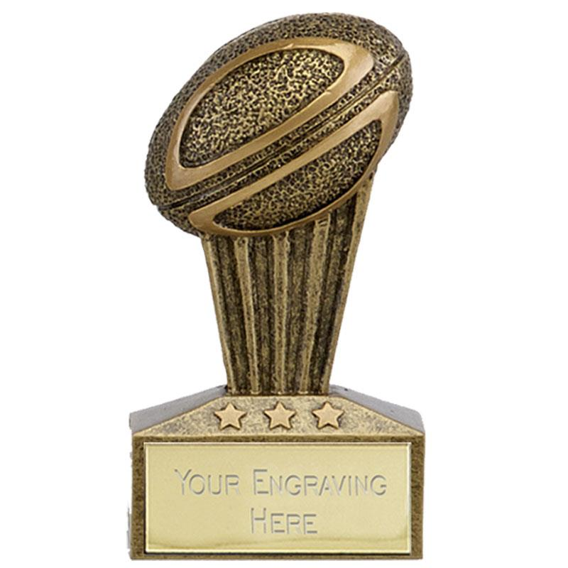 7.5cm Mini Rugby Trophy A1729