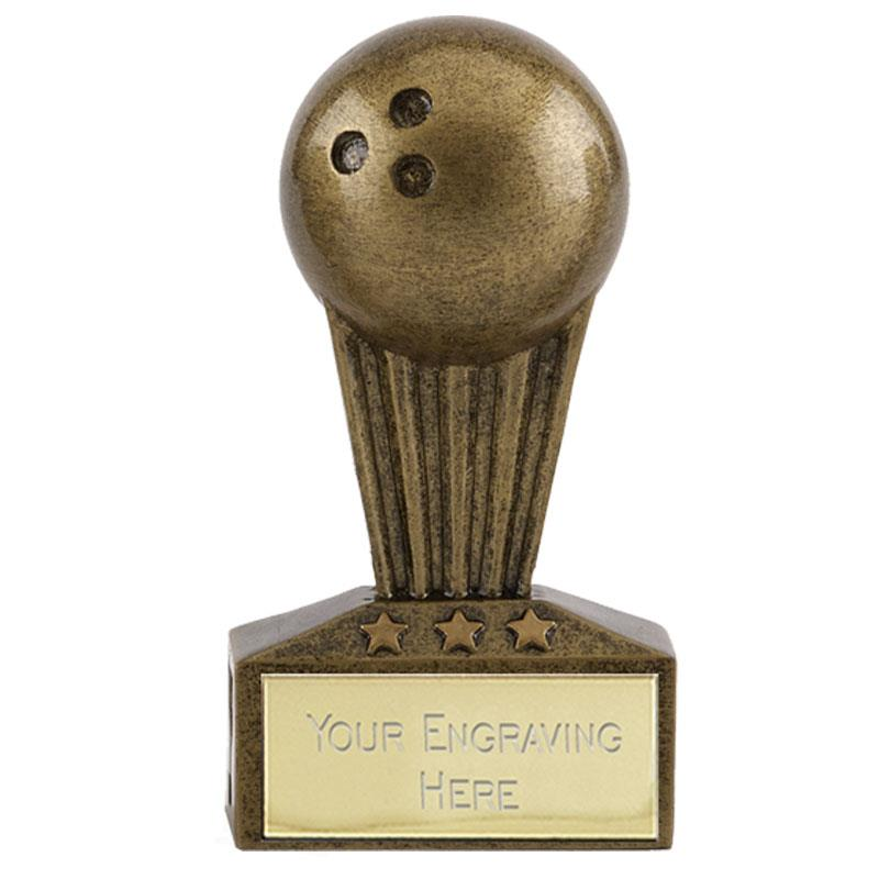 7.5cm Mini Ten Pin Bowling Star Trophy Award A1723