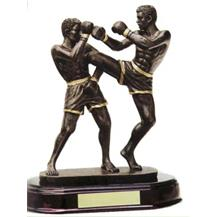 Resin Kickboxing Trophy