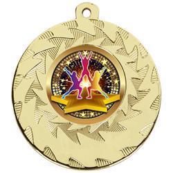 Gold Cheerleader Medals PR006_01