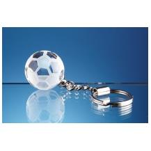 Football Keyring Glass NAN30