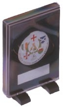 Self Standing Plastic Medal Presentation Case