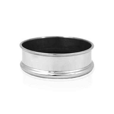 Plain Pewter Bottle Coaster WG301